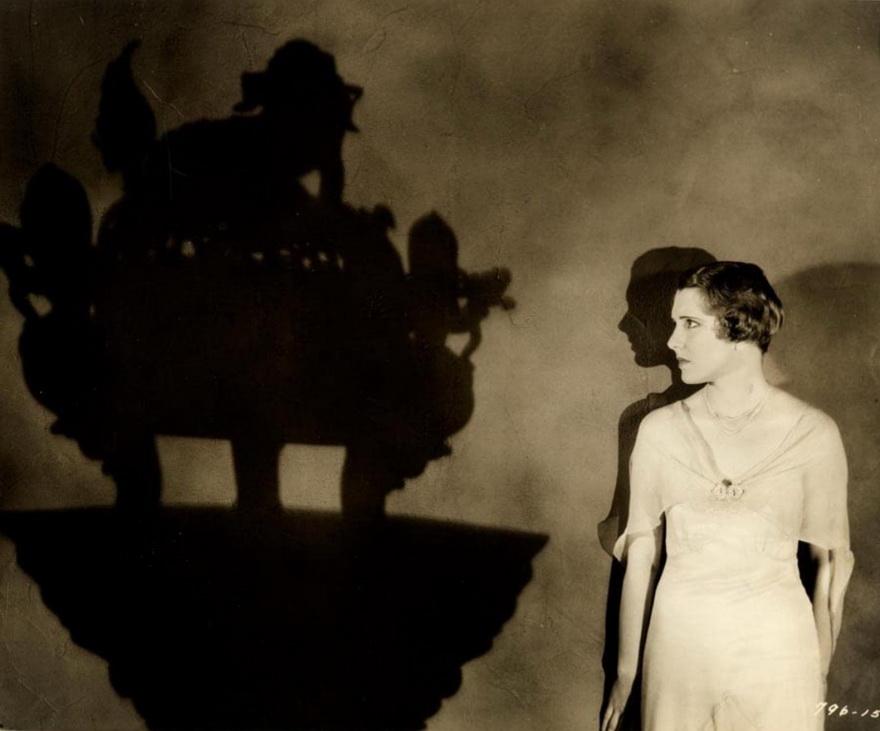"Jean Arthur, publicity shot for ""The Return of Dr. Fu Manchu"",1930"