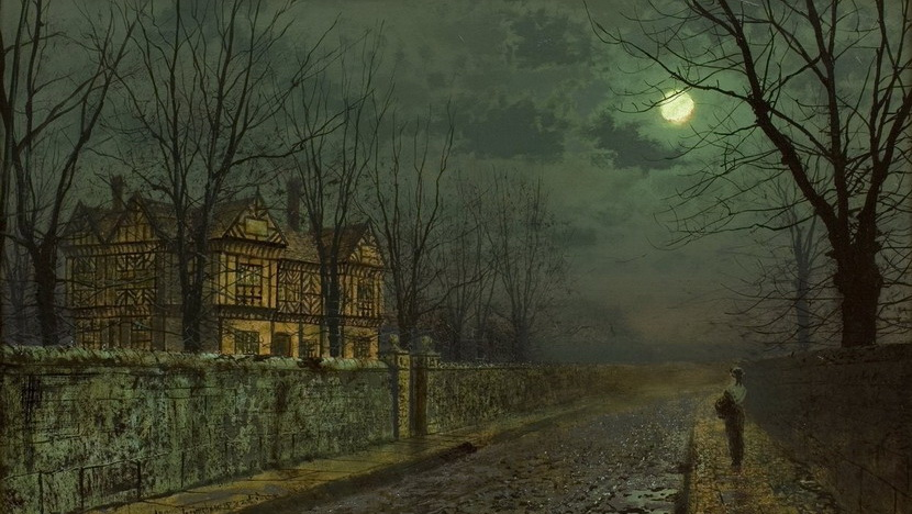 Painting by John Atkinson Grimshaw