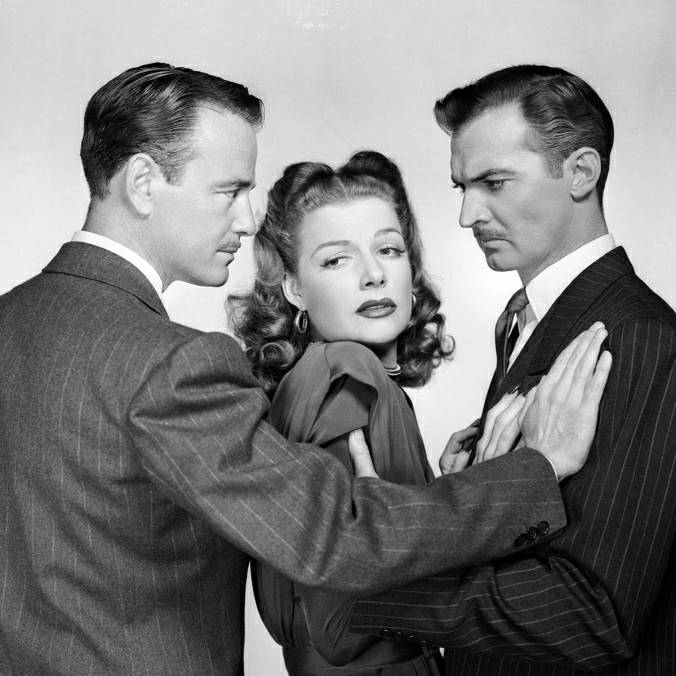 "Lew Ayres, Ann Sheridan and Zachary Scott in ""The Unfaithful"", 1947"