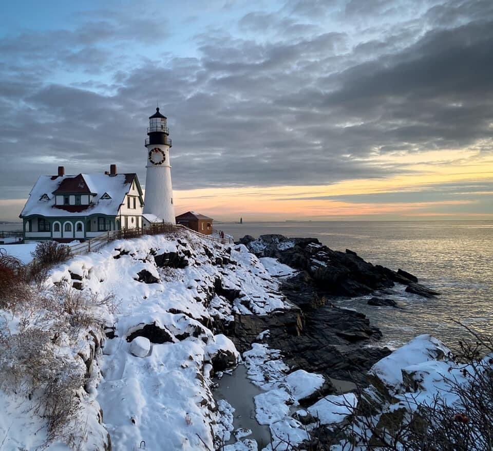 Portland Head Lighthouse, Maine, by Karl Ramsdell