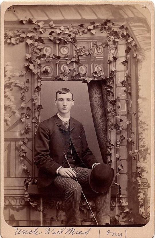 Vintage young gentleman