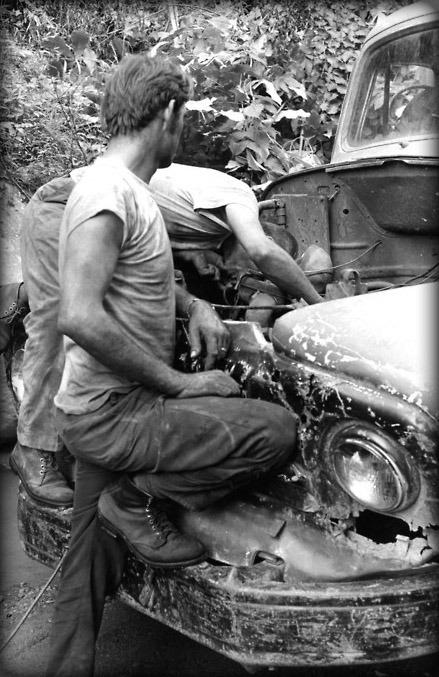 Back yard mechanics,1960s