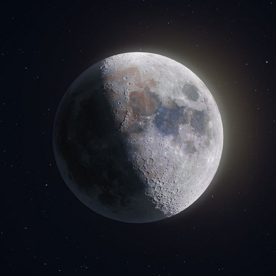 The moon, photo by AndrewMcCarthy