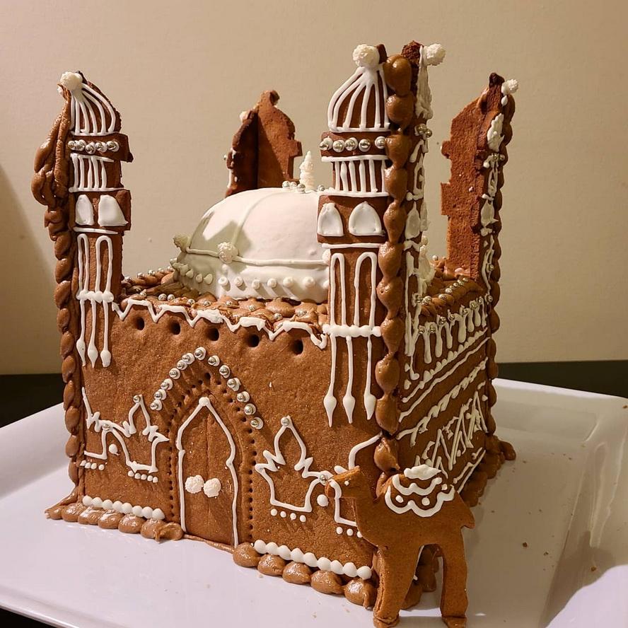 Gingerbread mosque