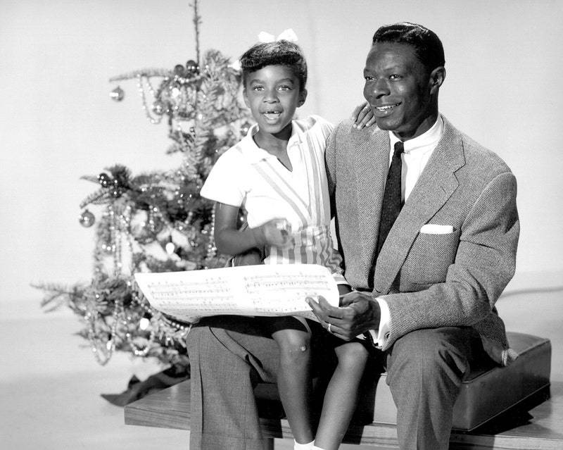 Merry Christmas from Natalie and Nat King Cole