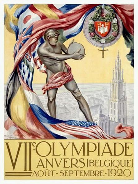 Olympics, Belgium, 1920