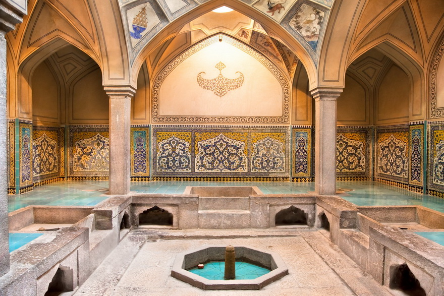 Ancient Persian bathhouse, Iran