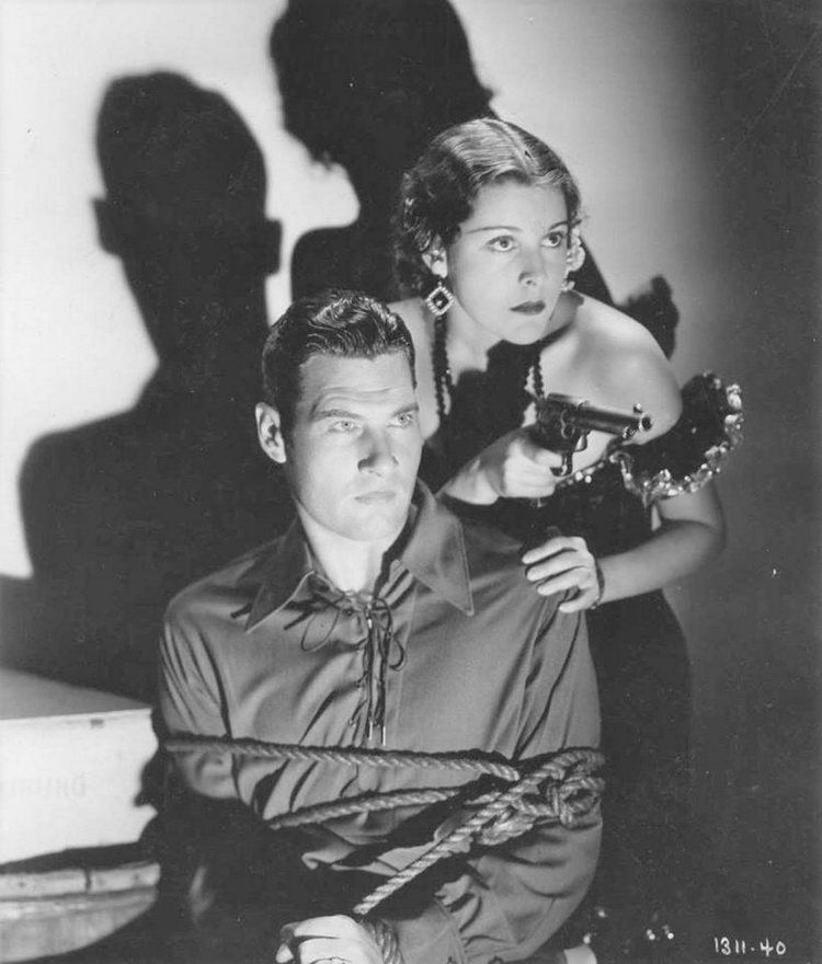 "Richard Arlen and Frances Dee in ""Caught"", 1931"