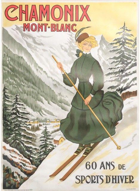 Ski Chamonix, France