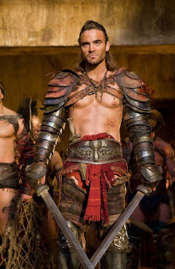 "Actor who played Gannicus in the ""Spartacus"" series"