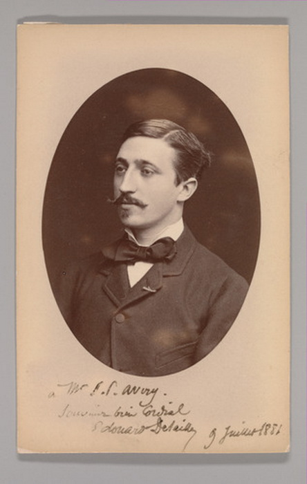Vintage French Stache, 1881