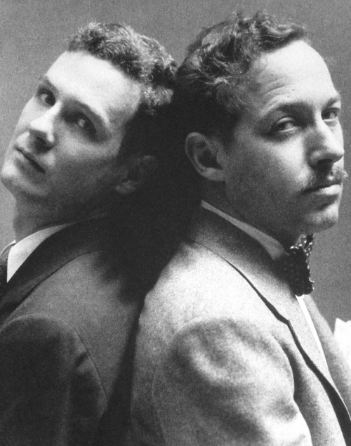 Tennessee Williams (right) and his lover Donald Windham photographed by George Platt Lynes, New York, 1945