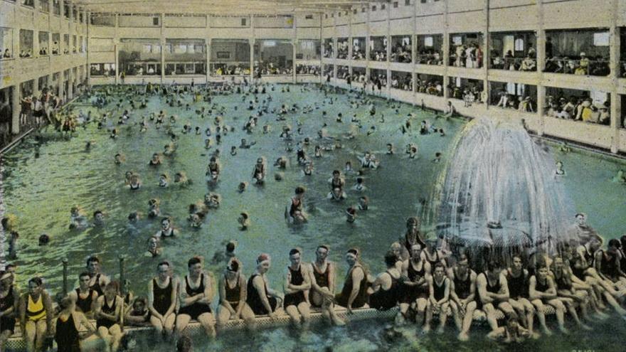 Bath House, California,1921