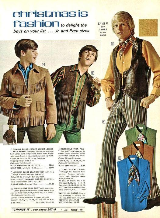 Boys' western wear, circa1970