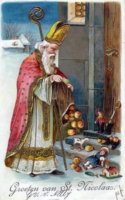 Groeten van St.Nicolaas