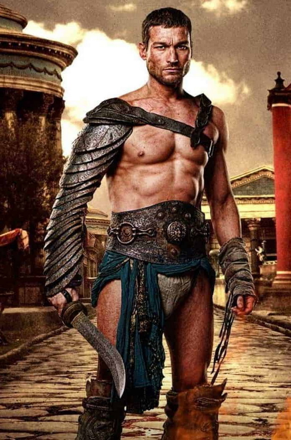 """Actor in the """"Spartacus"""" TVseries"""