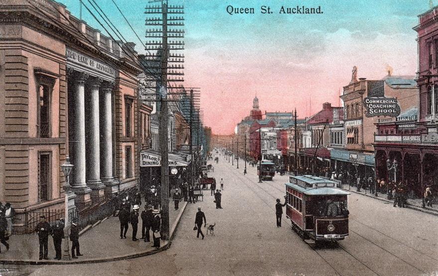 Auckland, New Zealand,1910s
