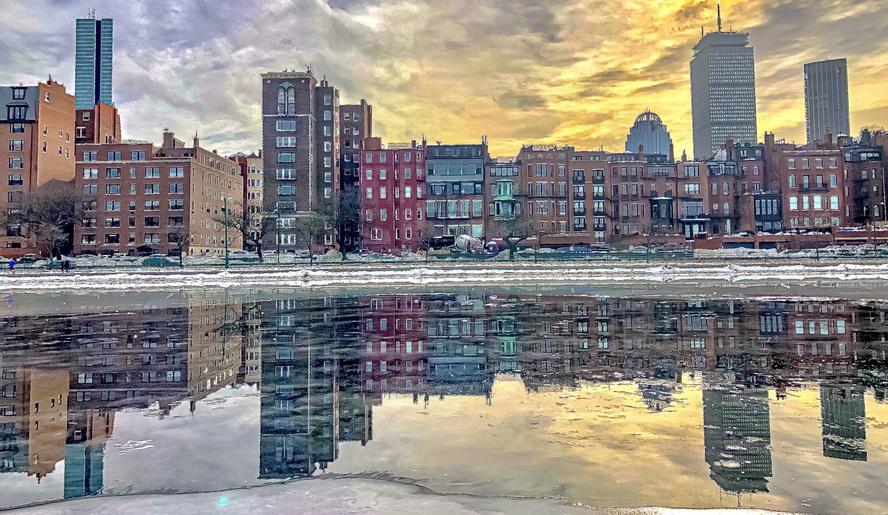 Back Bay, Boston, December2020