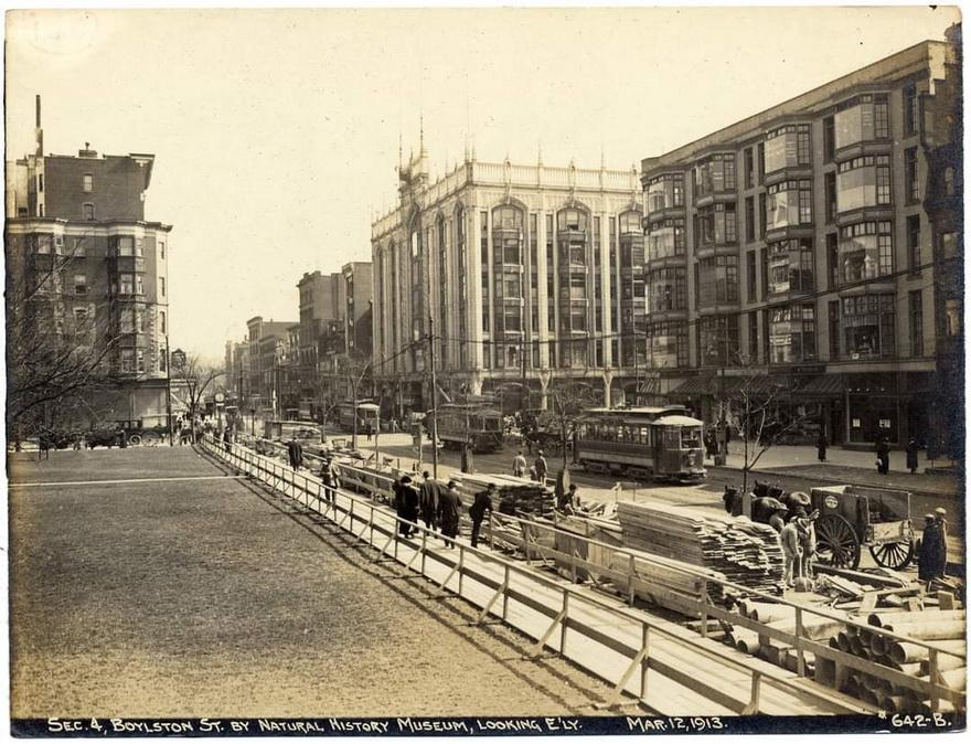 Boylston Street, Boston,1913