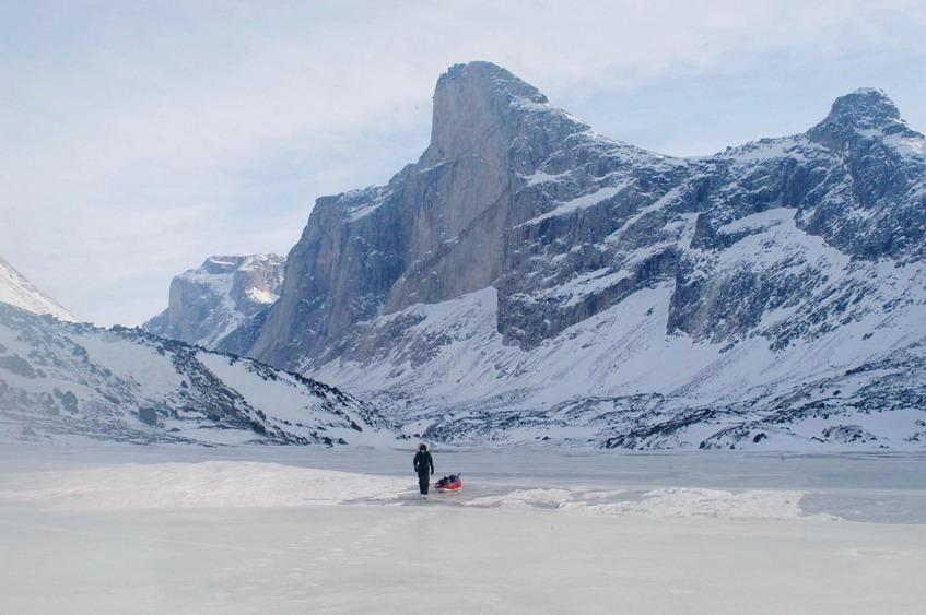Way up north in the CanadianArctic