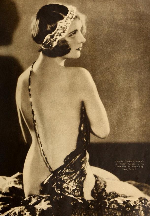 Carole Lombard, 1920s