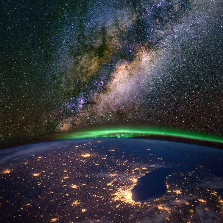 Chicago and the Midwest from the International SpaceStation