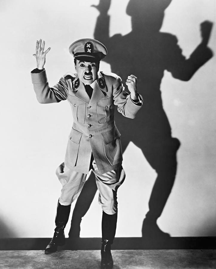 """Charlie Chaplin in """"The GreatDictator"""""""