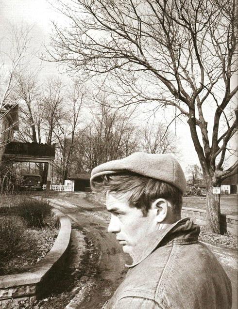 James Dean, Indiana, 1955