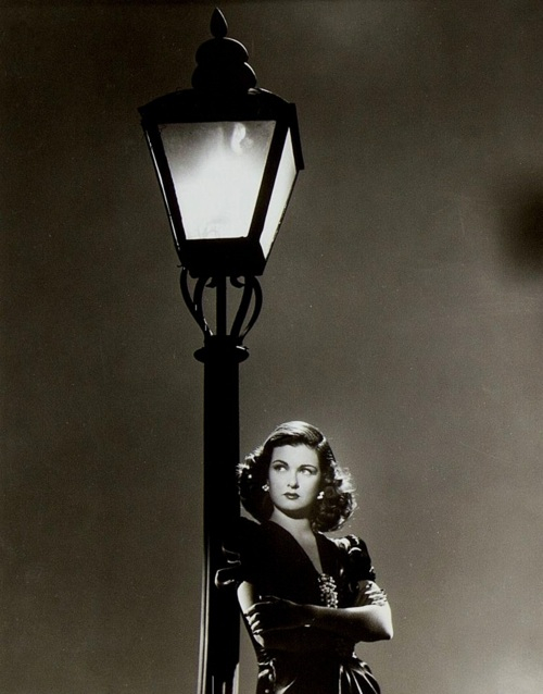 """Joan Bennett in """"Scarlett Street"""",1945"""