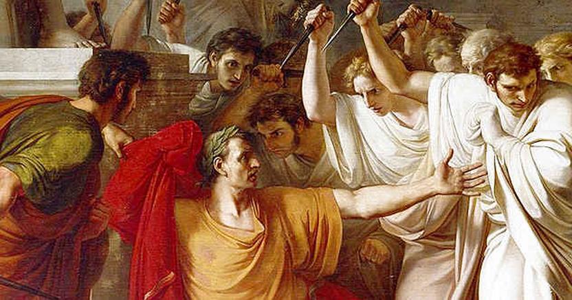 The assassination of JuliusCaesar