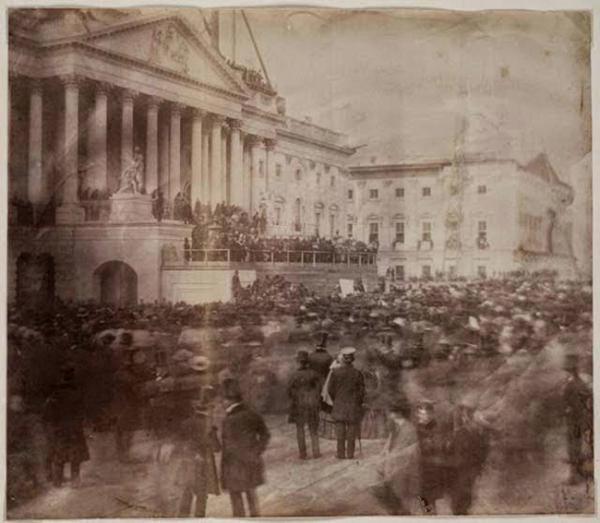 Inauguration of President Buchanan,1857