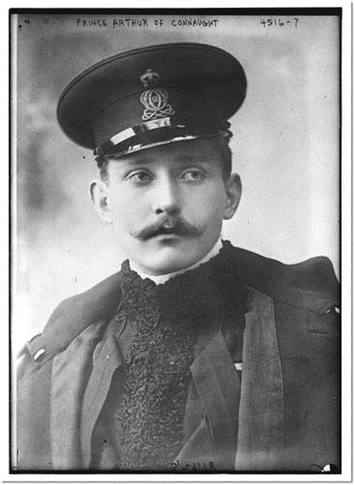 Prince Arthur of Connaught, UK, circa1900