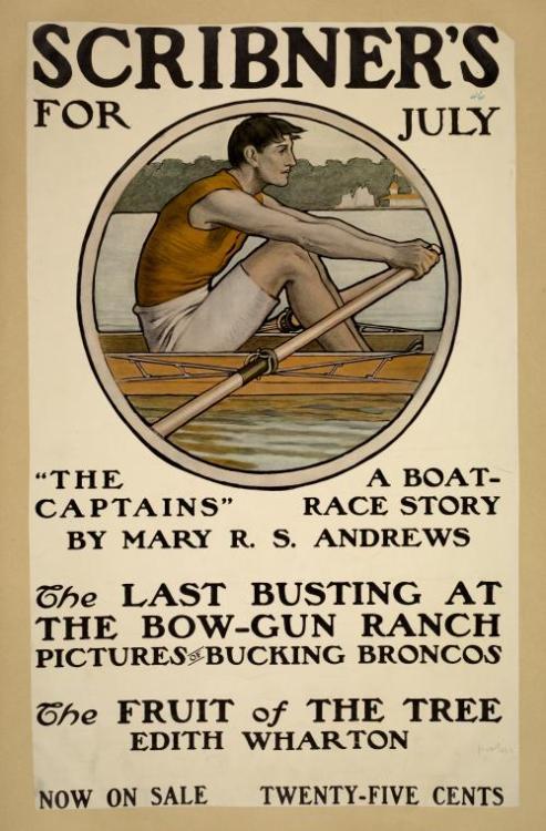 Boat race story in Scribner's