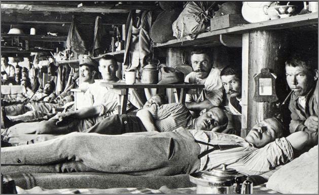 Siberian gulag for political prisoners,1910s