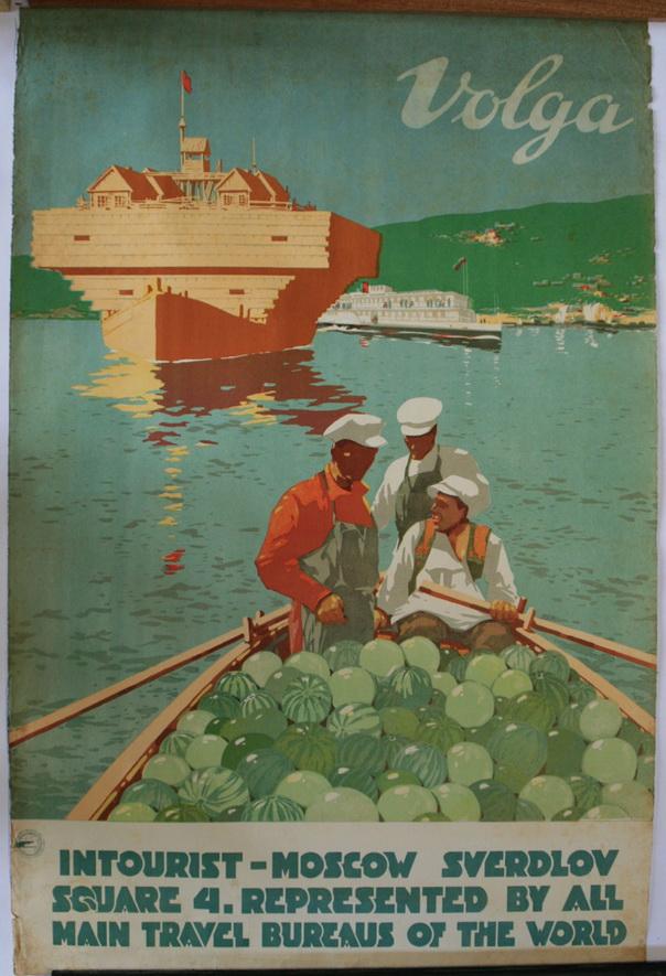 Volga River cruises, SovietUnion