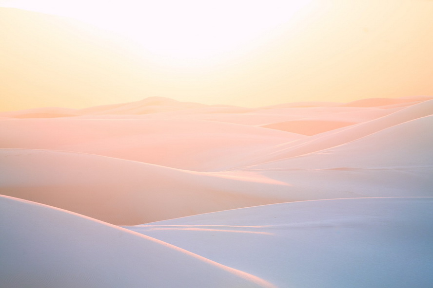 White Sands National Monument, New Mexico, by Mitch Warnick
