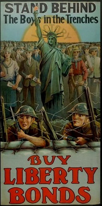 Liberty Bonds, US,WWI