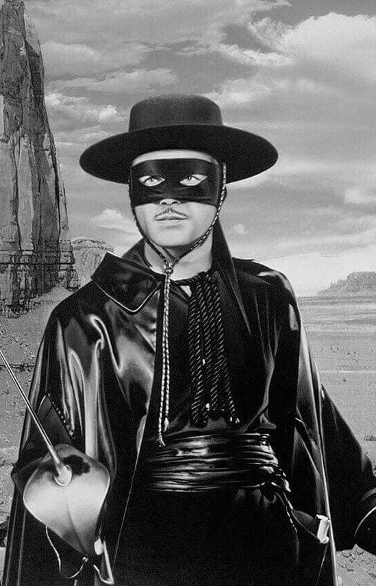 Guy Williams as Zoro,1950s