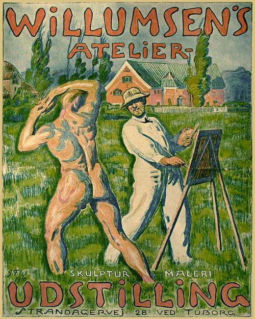 Art Exhibition, Denmark,1910