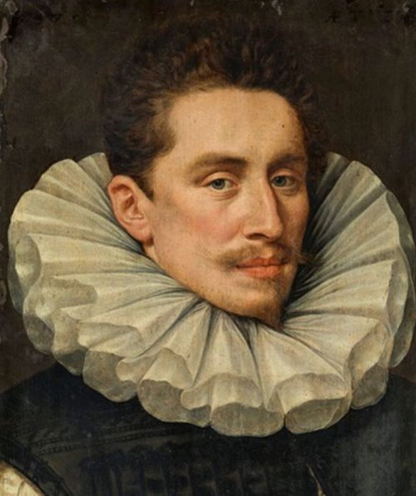 'Portrait of a Gentleman', by Adriaen Thomasz Key (Flemish painter),1500s