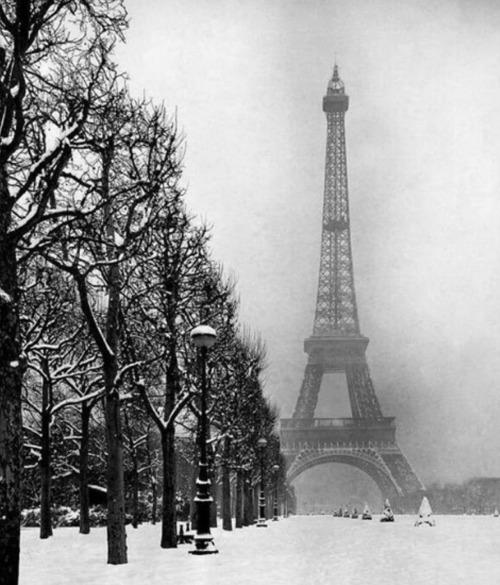 Paris winter, 1928