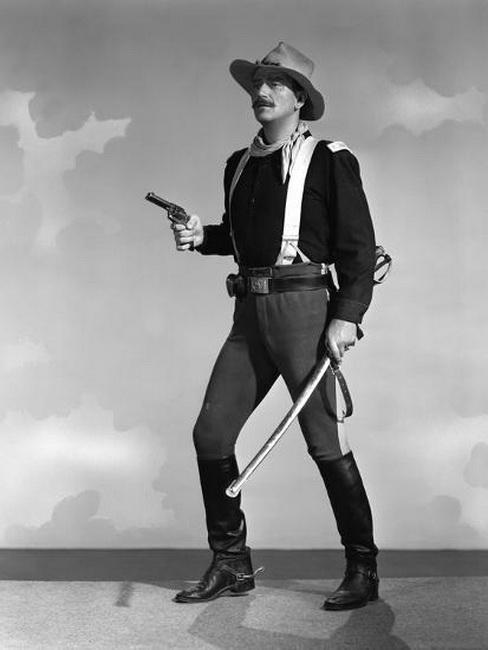 """John Wayne in """"RioGrande"""""""
