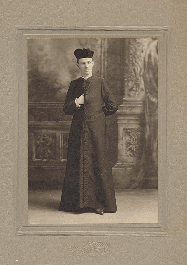 Religious man, 1800s