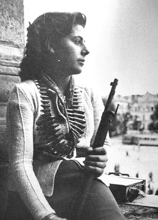 A Soviet sniper working for the French resistance,WWII