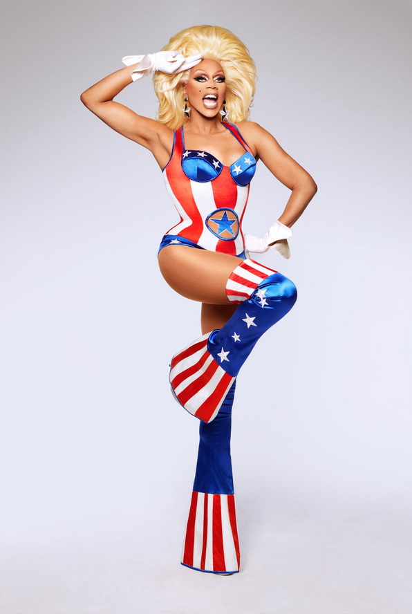 Rupaul saluting America