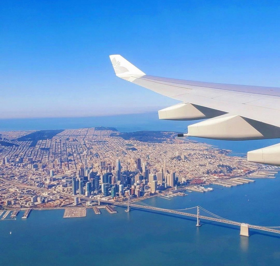 San Francisco, outbound