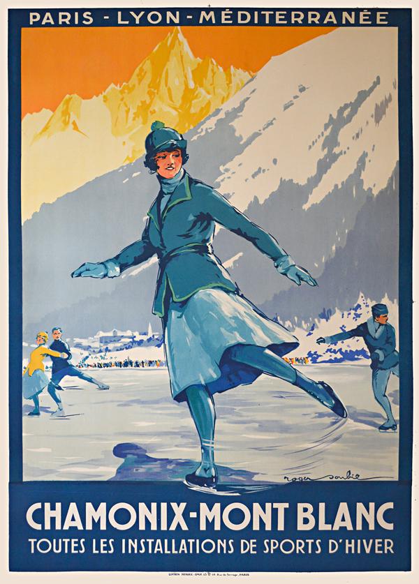 Chamonix-Mont Blanc, France, circa1920