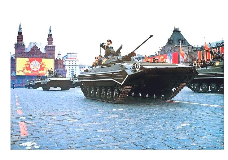 Soviet military parade,1970s