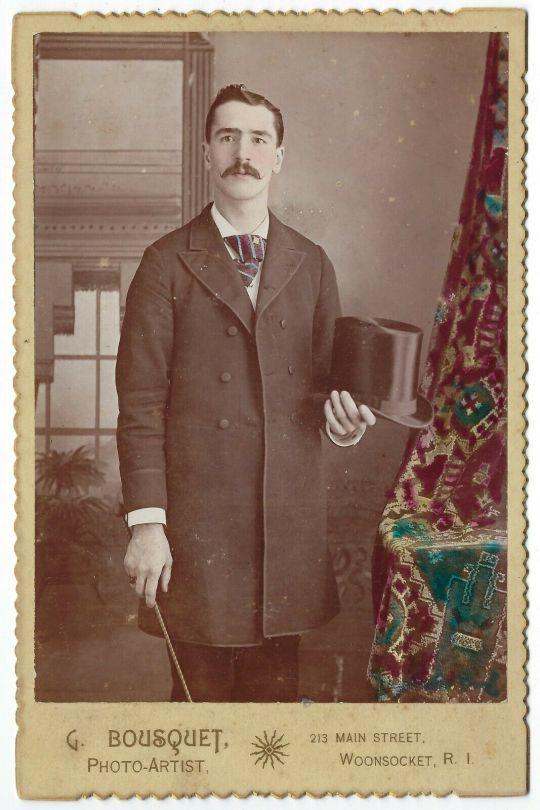 Stache and top hat, RhodeIsland