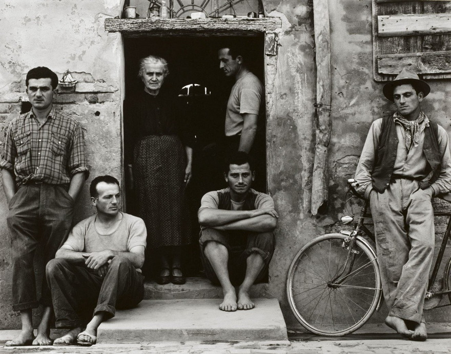 The Family, Italy, by Paul Strand, 1953